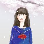 入学式(やまぎわようこのイラスト)